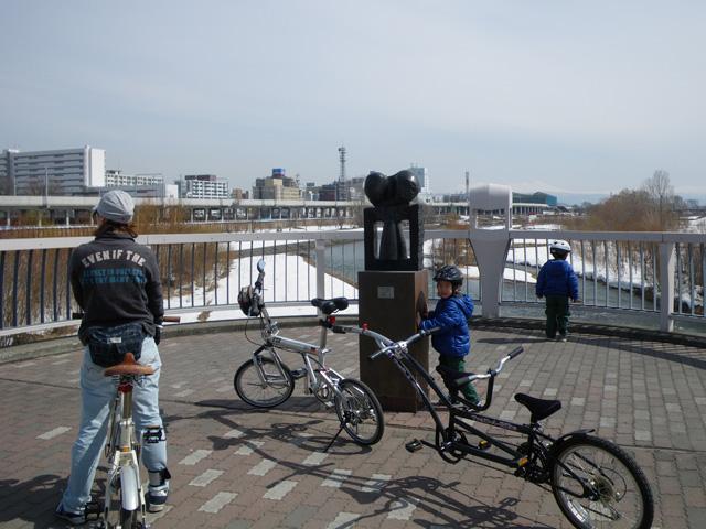自転車の 自転車 転倒 子供 : 初サイクリング (やっと戦力 ...